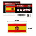 3D-Stickers-Bandiera-Spagna-14002-B