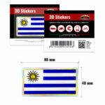 3D-Stickers-Bandiera-Uruguay-494-B