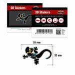 3D-Stickers-Geco-Nero-14100-B