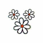 3D-Stickers-Tris-Fiori-14216-A