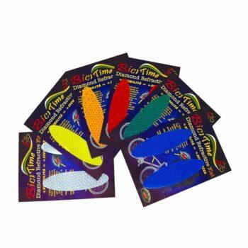 Adesivi rifrangenti ovali varianti cromatiche