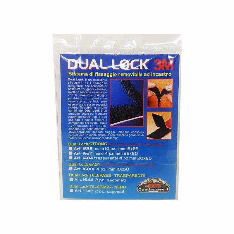 dual lock sistemi di fissaggio confezione retro