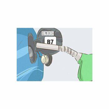 Tabella Adesiva Bolli Carburante Disel