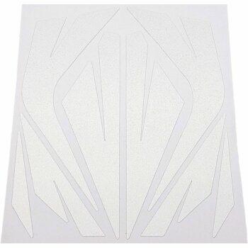 Tabella di adesivi rifrangenti per bici, bianco