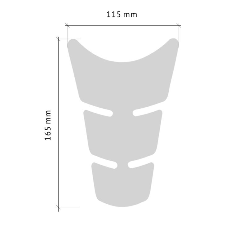 Paraserbatoio Slim Short misure