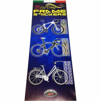 Tabella di adesivi per bici confezione