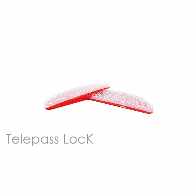 Telepass Lock Sistema di Fissaggio Richiudibile trasparente