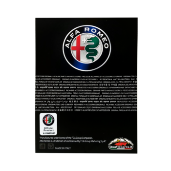 cartoncino packaging prodotti alfa romeo