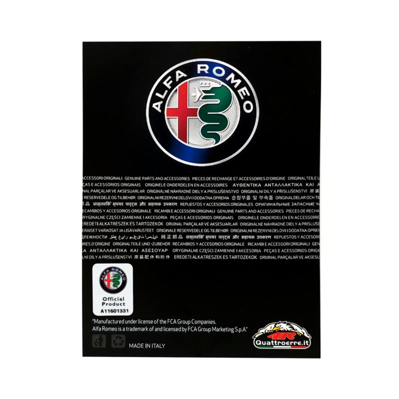 cartoncino packaging prodotti alfa romeo