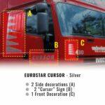 Kit Decorazione Eurostar Cursor Argento