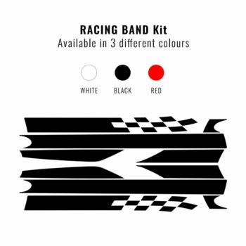 Kit carrozzeria 500 fascia racing forma e colori