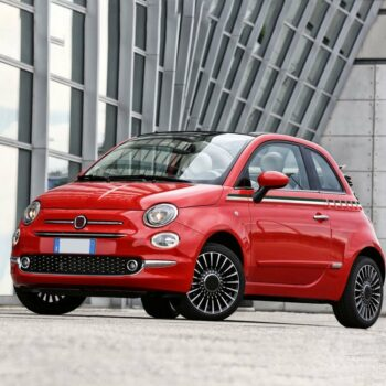 Kit carrozzeria 500 fascia tricolore Italia per fiancate esempio 1