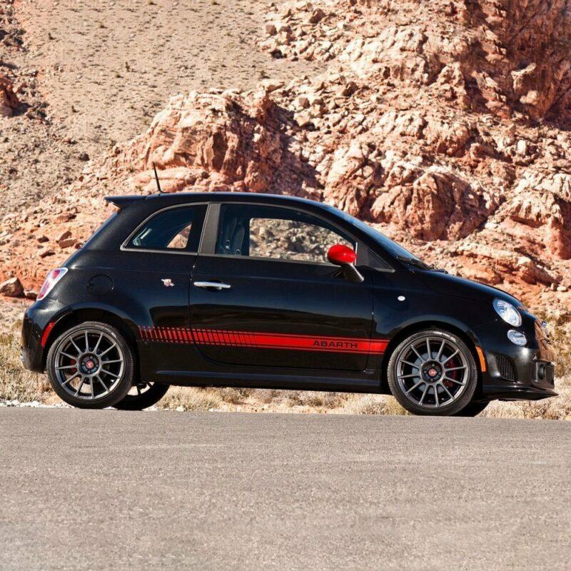 Kit carrozzeria 500 Abarth 2 fascioni esempio di applicazione 2