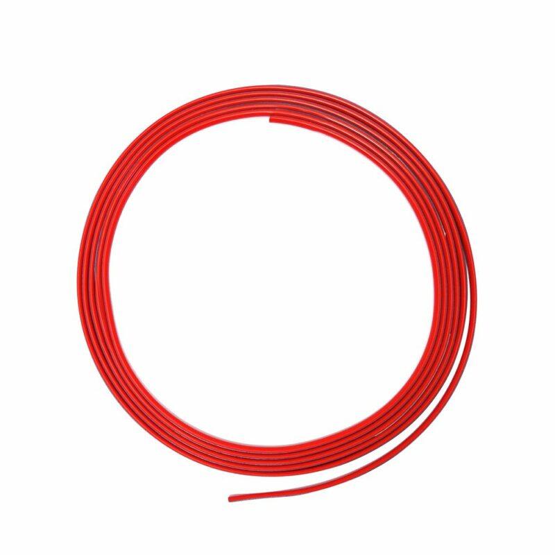 Mini profilo trim rosso