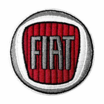 Toppa patch logo Fiat 60 mm