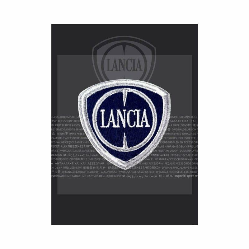 Confezione toppa patch logo Lancia