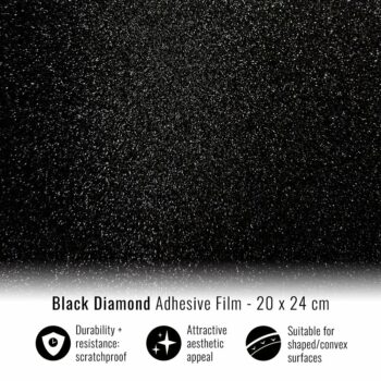 Pellicola adesiva per wrapping black diamond 20x24
