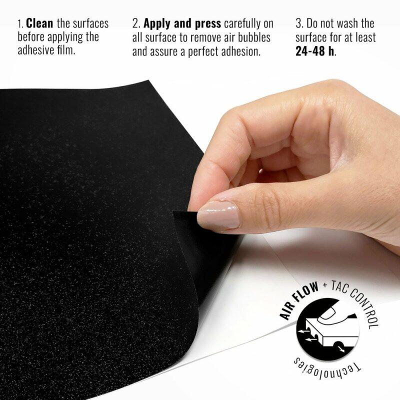Pellicola adesiva per wrapping black diamond istruzioni