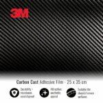 Pellicola adesiva per wraping carbonio 3M 20x24