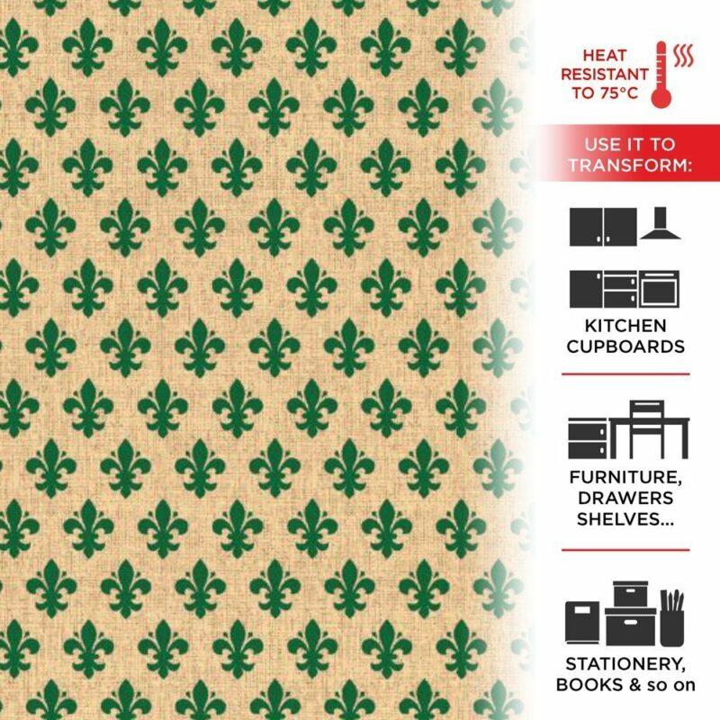 pellicola aplicativa effetto giglio verde
