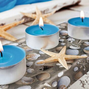 pellicola protettiva effetto venere esempio aplicativo per decorare particolari per richiamare la spiaggia con le conchiglie