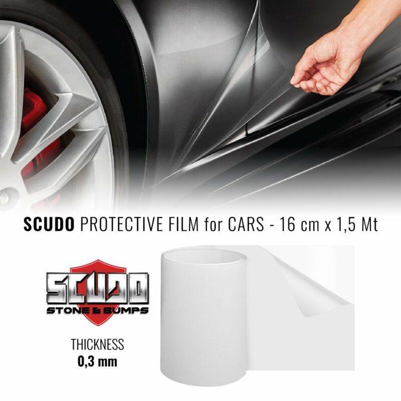 pelliocola adesiva scudo per carrozzeria auto 1,5 mt