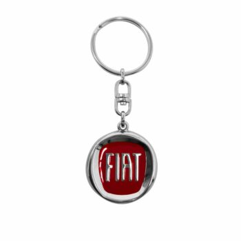 Portachiavi in metallo logo Fiat