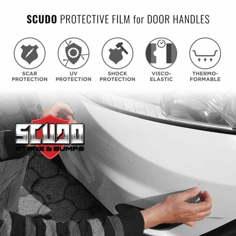 Protezioni Adesive, Paraurti Auto Scudo Bumpers Applicazione