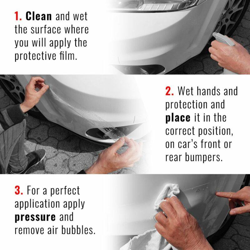 Protezioni Adesive, Paraurti Auto Scudo Bumpers Spiegazione