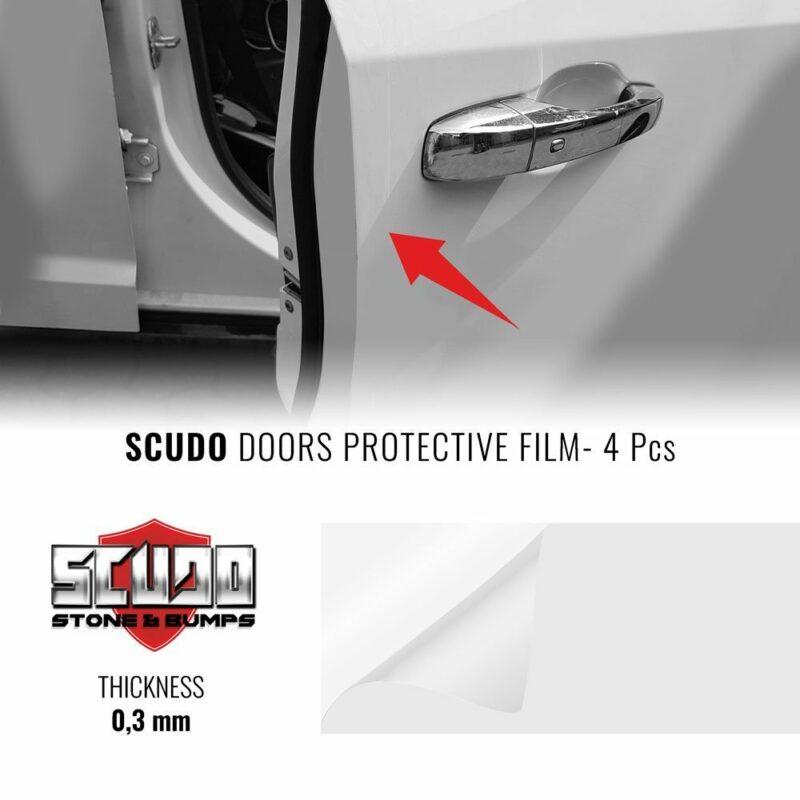 Salvaporta Adesivi per Auto Scudo Bump Door
