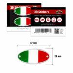 3D-Stickers-Ovale-Bandiera-Italia-14017-B