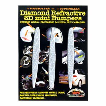 Adesivi 3D Rifrangenti Arrow bianco