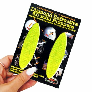 Adesivi 3D Rifrangenti Ovali Giallo