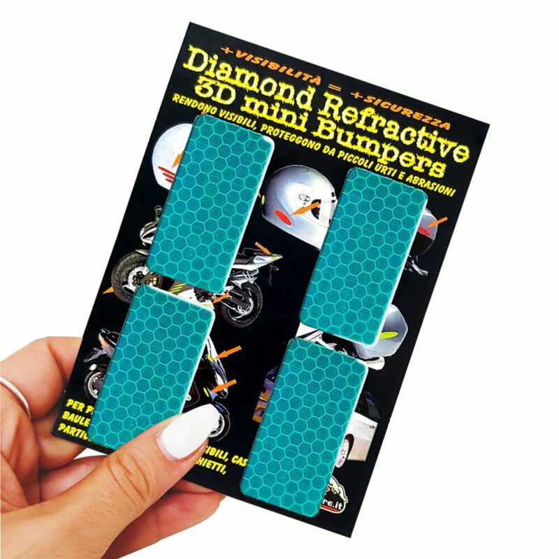 Adesivi 3D Rifrangenti Rettangoli Vedre