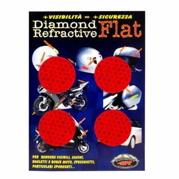 Adesivi Rifrangenti Cerchi Rosso