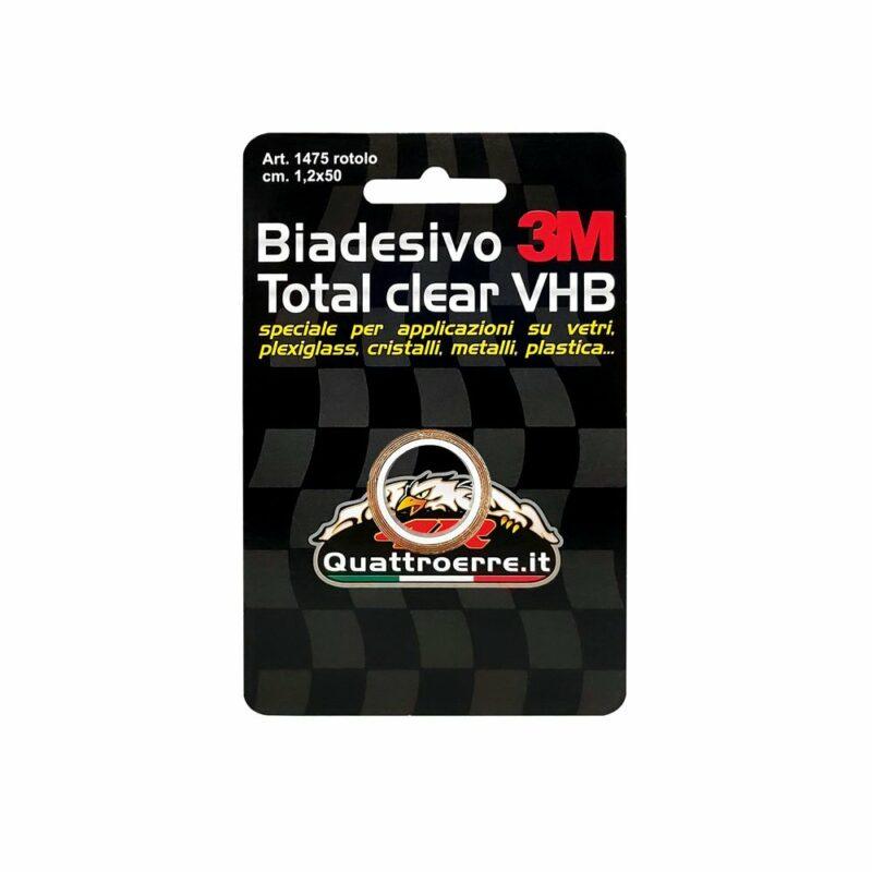 Biadesivo 3M Total Clear VHB 1,2 x 50 cm cartoncino