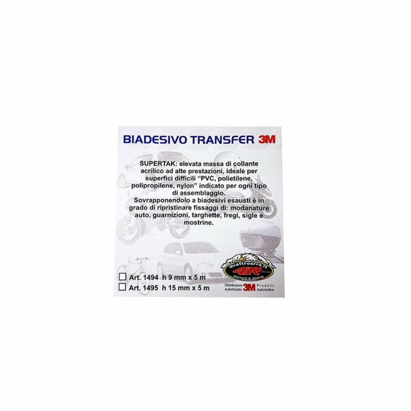 Biadesivo 3M Transfer confezione