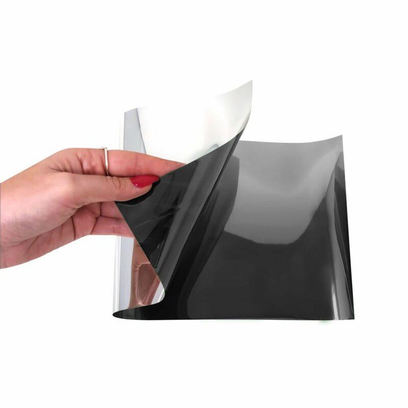 Parasole Adesivo Sfumato 40 x 20 cm nero