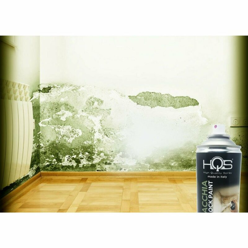Vernice Spray HQS Bianco Coprimacchia 400 ml