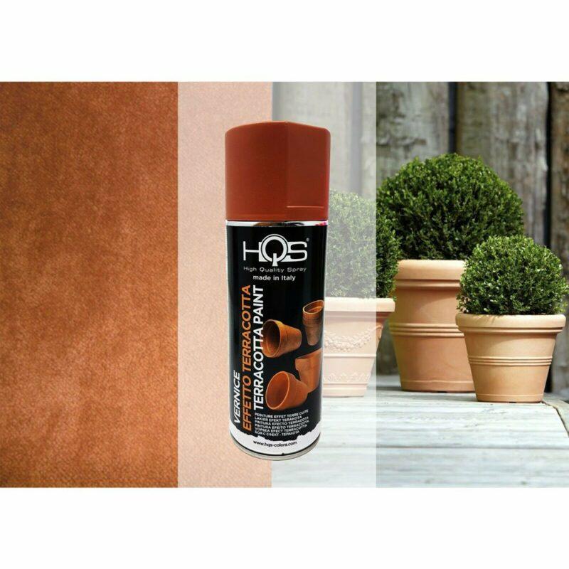 Vernice Spray HQS Effetto Terracotta 400 ml