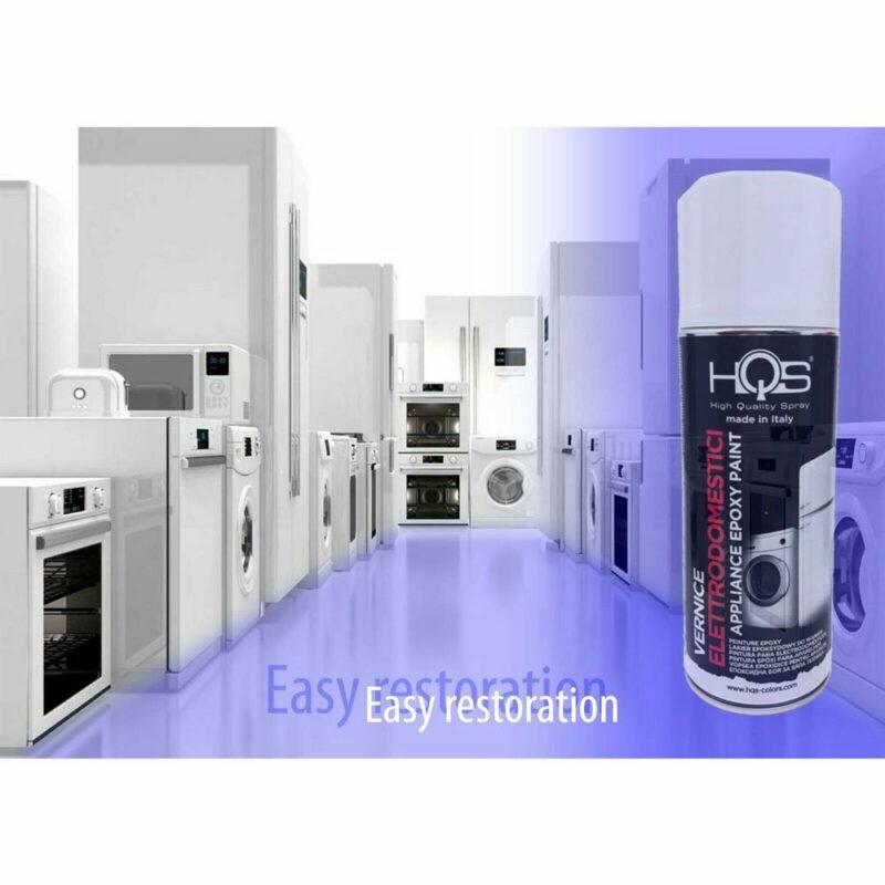 Vernice Spray HQS Bianco per Elettrodomestici 400 ml