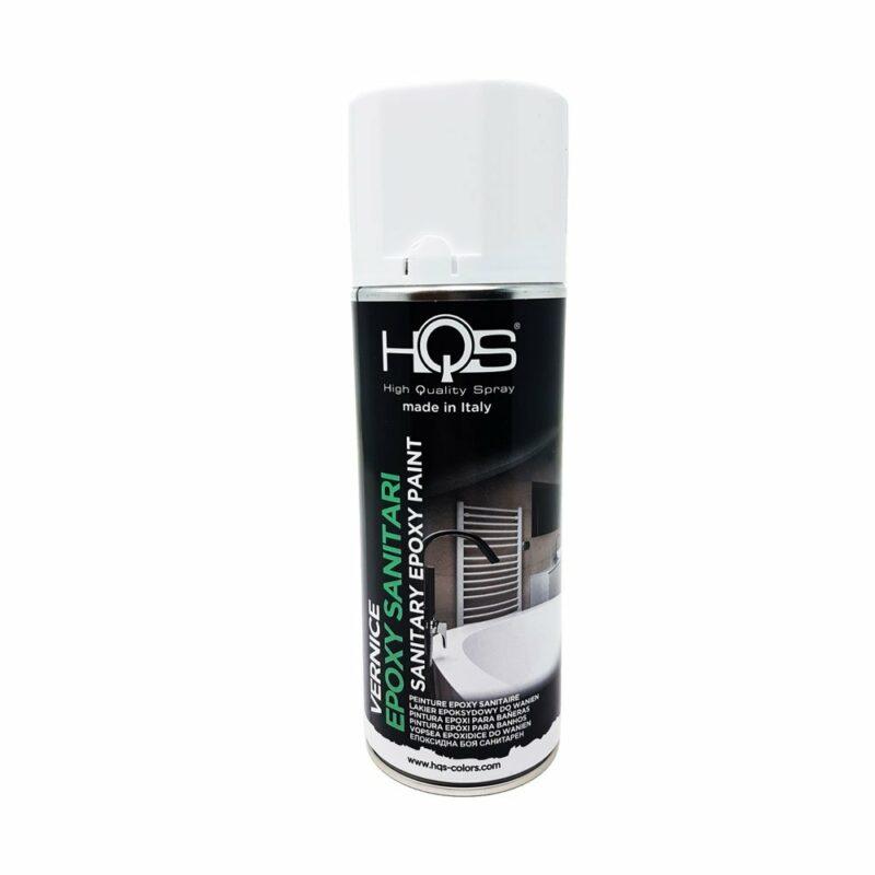 Vernice Spray HQS Bianco per Sanitari 400 ml