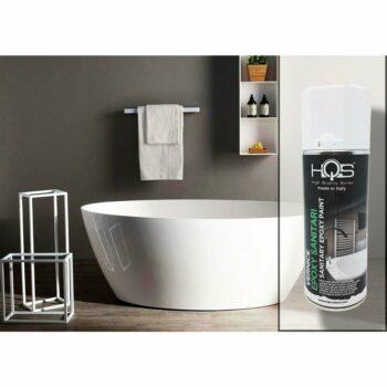 Vernice Spray HQS Bianco per Sanitari 400 ml applicazione
