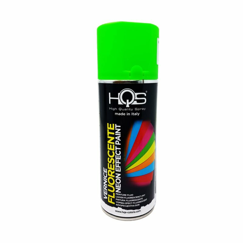 Vernice Spray HQS Fluorescente verde