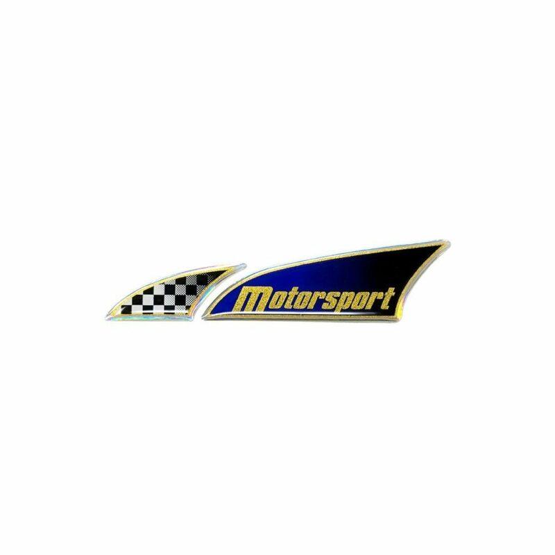 Adesivo 3D Logosport Motorsport Singolo