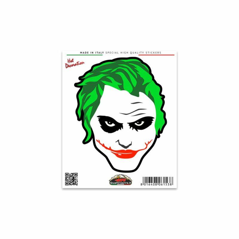 Adesivi Stickers Standard Joker 10 x 12 cm