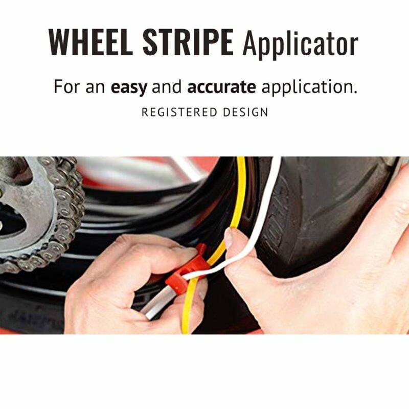 Wheel Stripe Fluo modalita di utilizzo