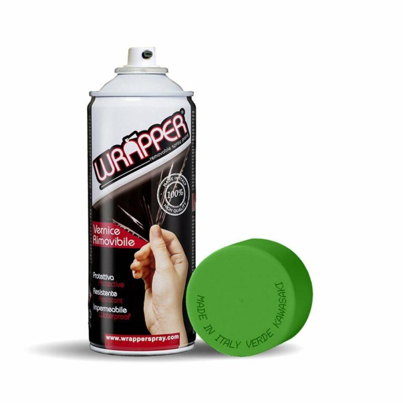 Wrapper Spray Vernice Removibile verde kawa