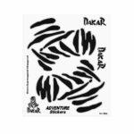 Adesivi Adventure Stickers per Bauletti Moto Dakar