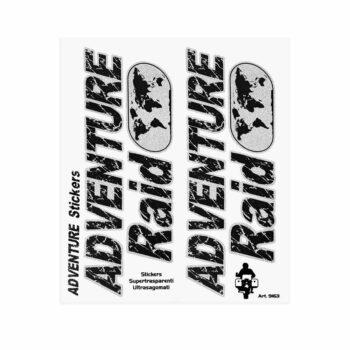 Adesivi Adventure Stickers per Bauletti Moto Adventure Raid